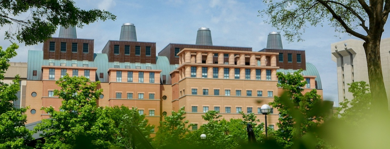 Landscape of the Engineering Research Building