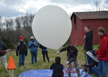 UC Cubecats launching a satellite