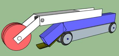 Prototype of drain cleaner