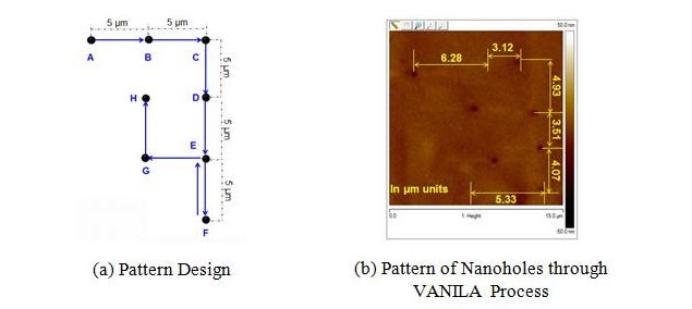 Pattern design and diagram of VANILA process, more details in caption