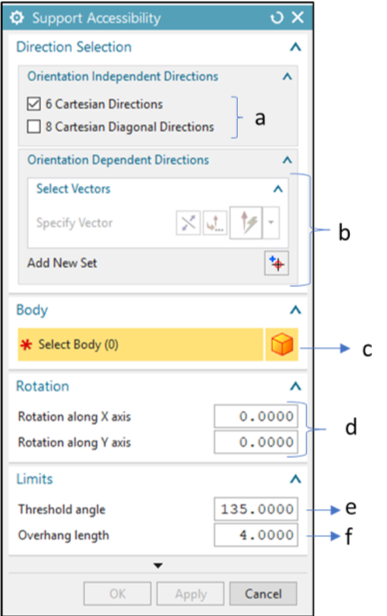 Support Accessibility Detection GUI