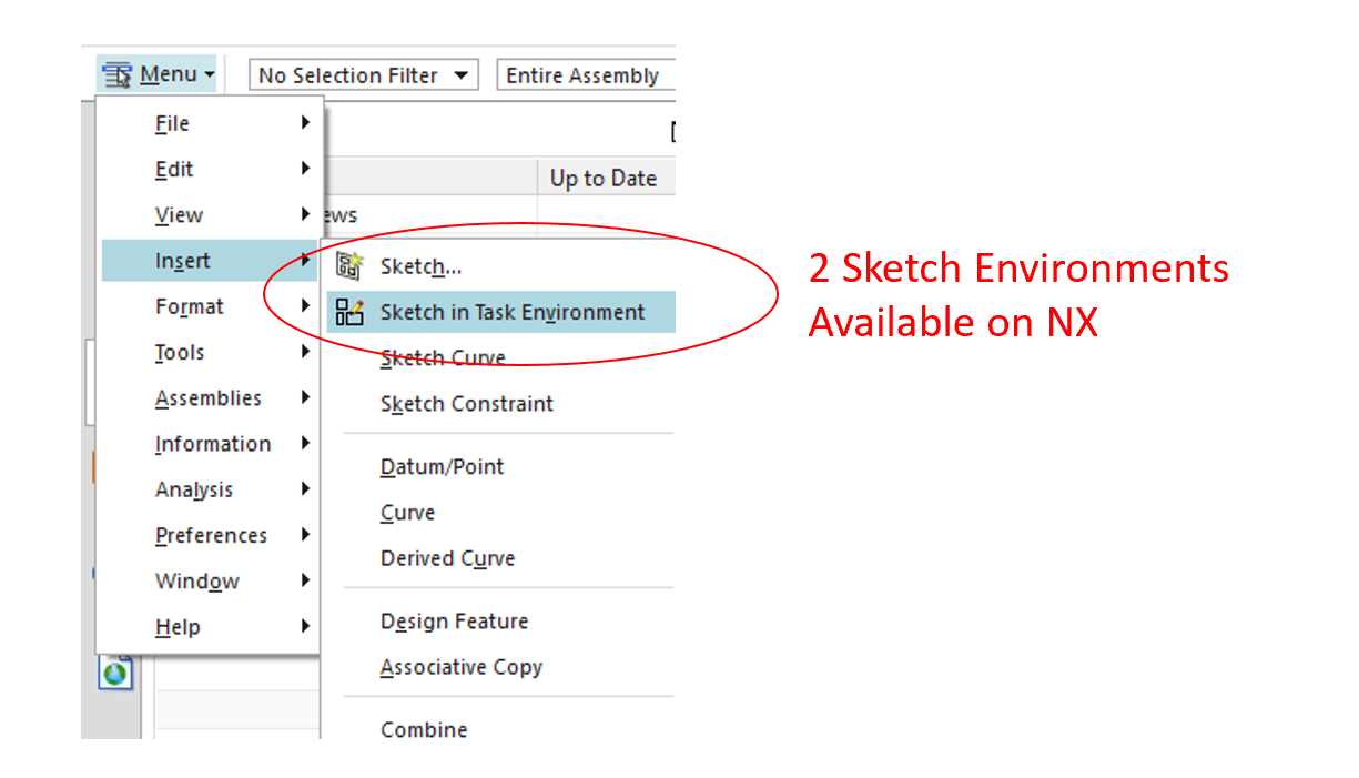 Select Sketch in Task Environment