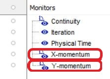 Create new converging criteria from monitor
