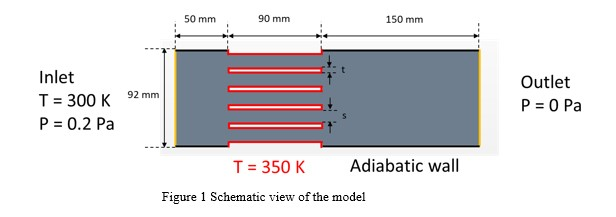 Figure 1 Schematic view of the model