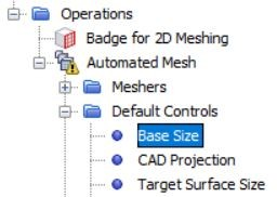 Figure 25 Change the case size of the mesh