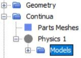 Physics model selection