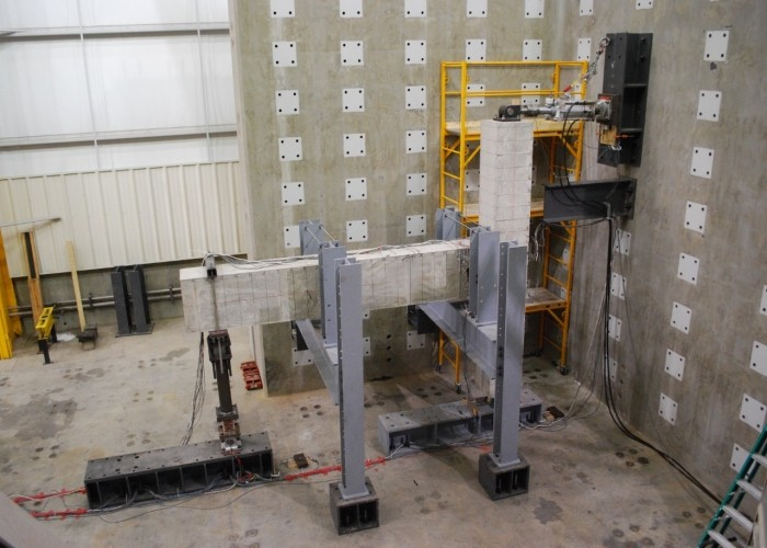 Large Scale Testing Facility interior